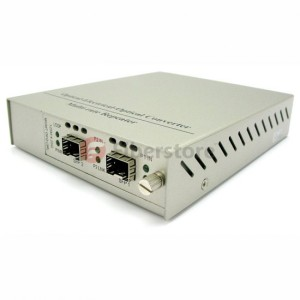 SFP+ to SFP+ 10G Media Converter w 3R Repeater Support CWDM or DWDM