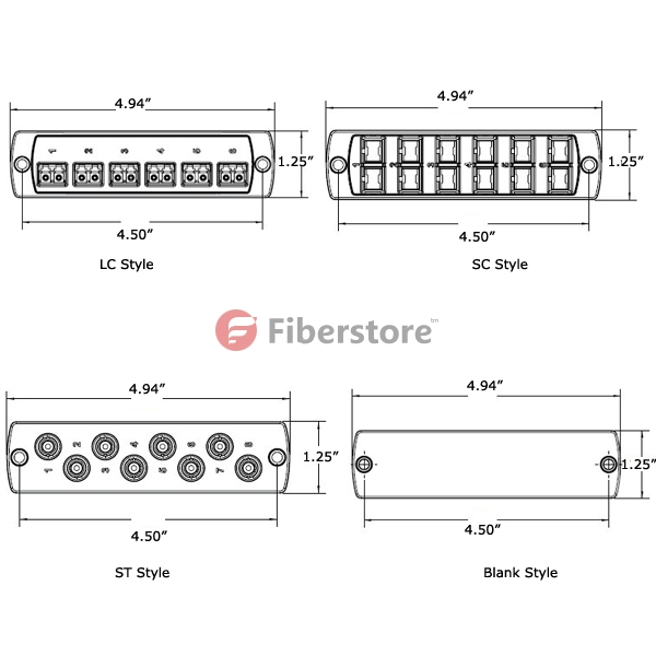 Fiber Cables Connection Of Fibre Optic Patch Panel