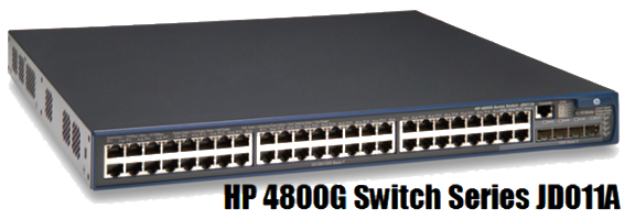 HP 4800G Switch Series JD011A