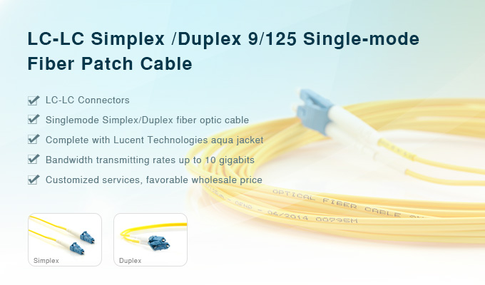 LC-LC-Single-mode-fiber-patch-cable