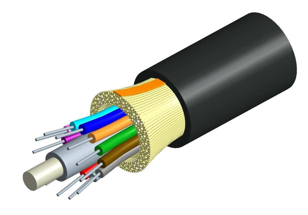 distribution fiber optic cable