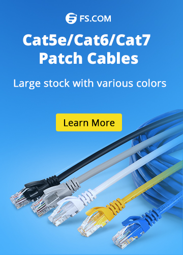 Cat5e/cat6/cat7 patch cables