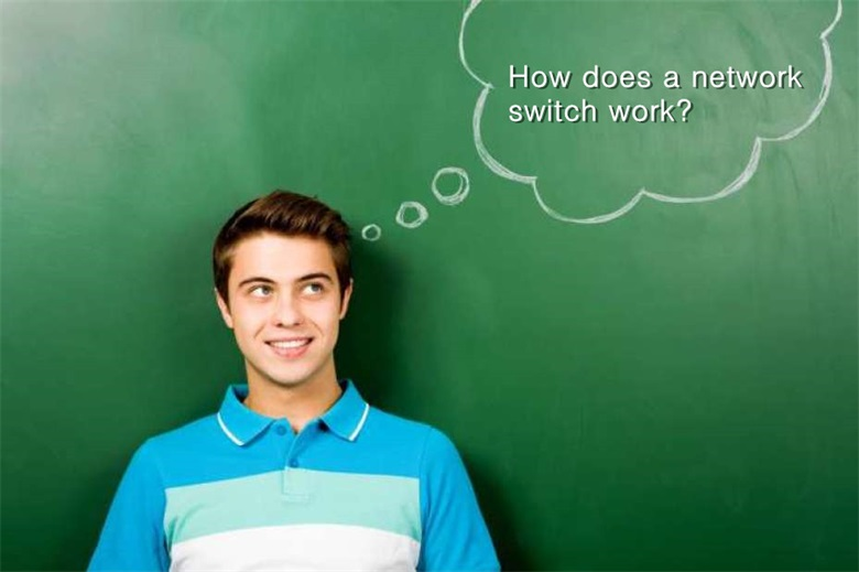 How does a network switch work