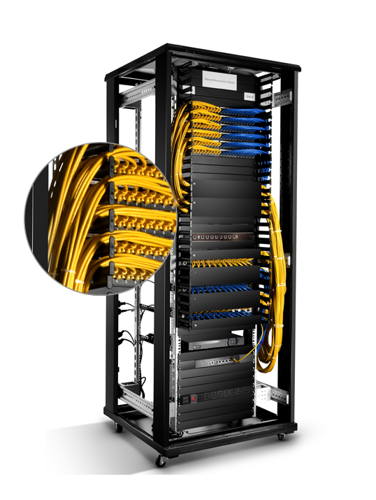 Vertical-cable-management