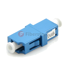 10 dB Fixed LC/UPC Bulkhead Optical Attenuator