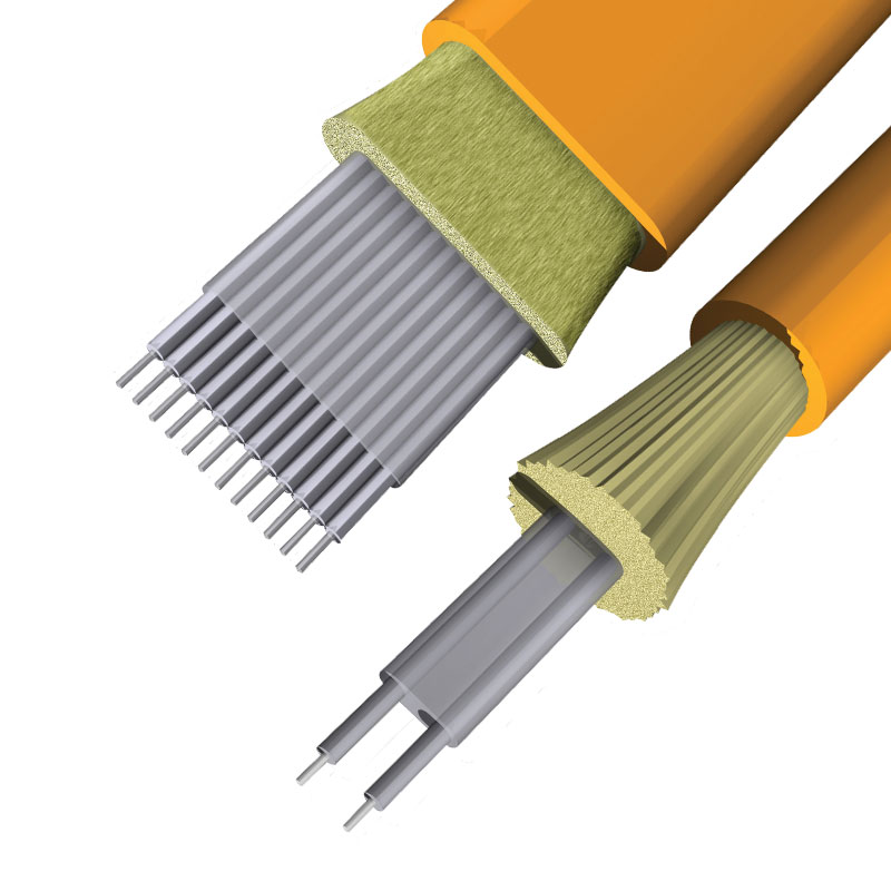 cable de fibra óptica de cinta