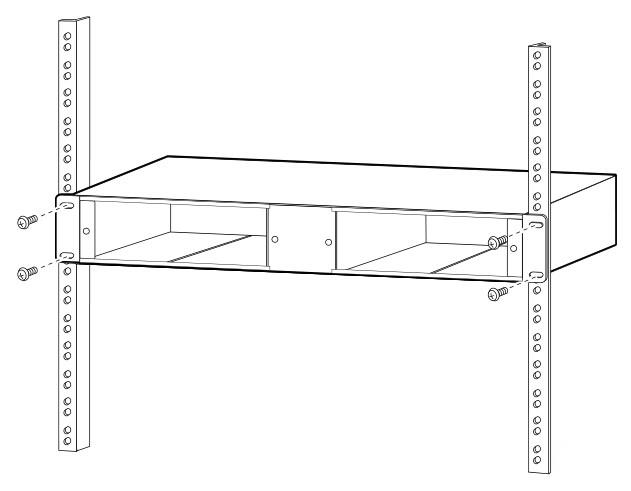 secure system shelf