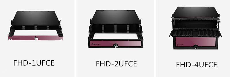 FHD fiber enclosure: FHD-1UFCE, FHD-2UFCE, FHD-4UFCE