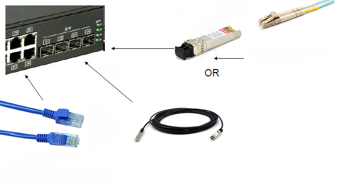 10GBase-T or SFP+