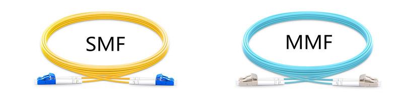 types de câbles à fibres optiques